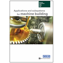 Brochure for machine building: New edition with more solutions